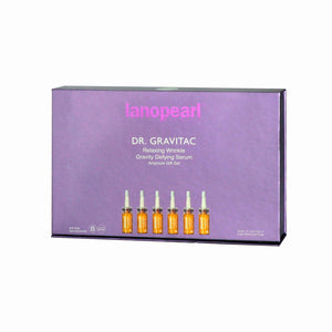 Lanopearl Dr. Gravitac Relaxing Wrinkle Gravity Defying Serum Ampoule Gift Set (LB77) 60ml