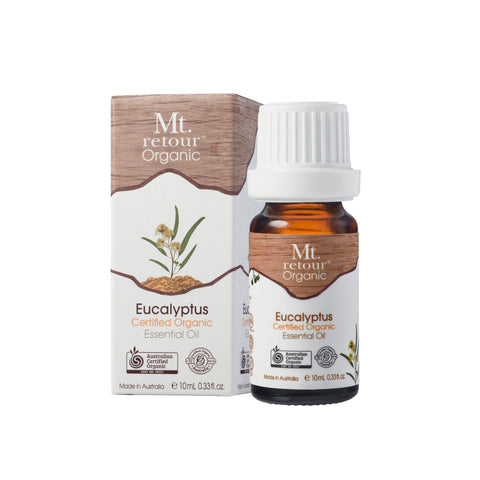 Mt Retour Eucalyptus Certified Organic Essential Oil (MR01) 10mL