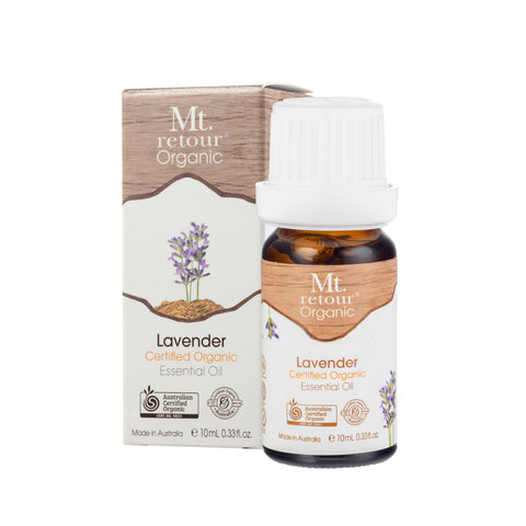 Lavender Certified Organic Essential Oil (MR02) 10ml