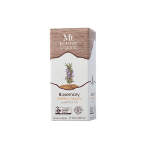 Mt Retour Rosemary Certified Organic Essential Oil (MR05) 10ml