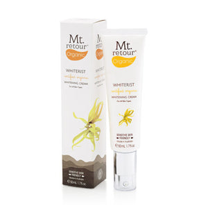 MR48 MT.RETOUR WHITERIST CERTIFIED ORGANIC WHITENING CREAM 50ML