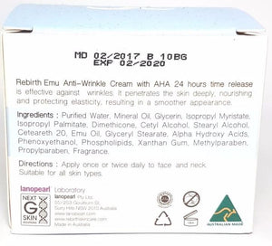 Rebirth Emu Anti-wrinkle Cream (RB03) 100g