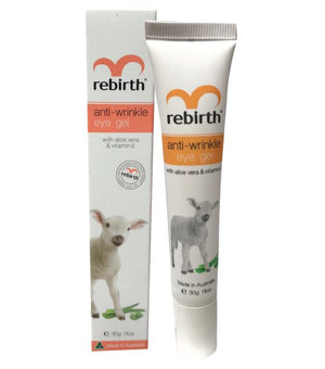 Rebirth Anti-Wrinkle Eye Gel with Vitamin E (RB11) 30g