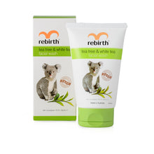 RB34 REBIRTH TEA TREE & WHITE TEA FACIAL WASH 100ML