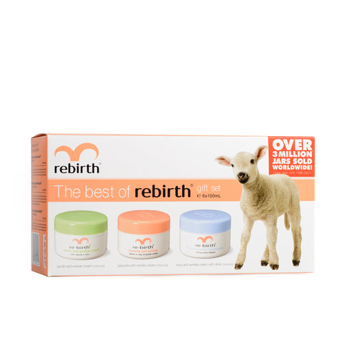 RB35 THE BEST OF REBIRTH GIFT SET (100G X 6 JARS ASSORTED)