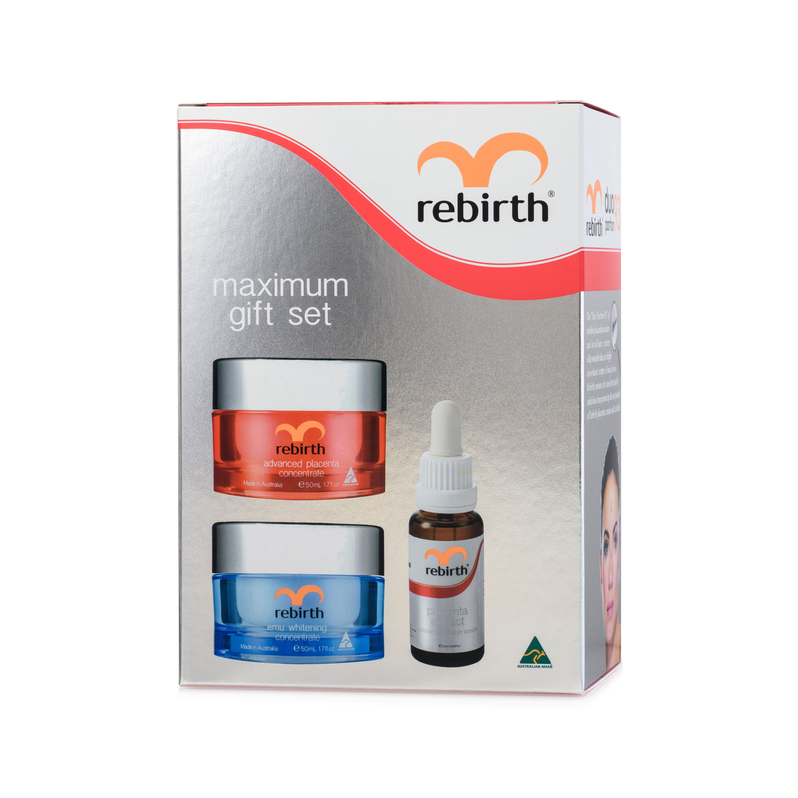 Rebirth Maximum Gift Set (125ml)