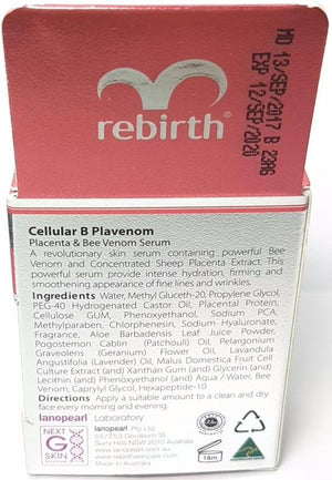 Rebirth Cellular B Plavenom Serum (10ml)