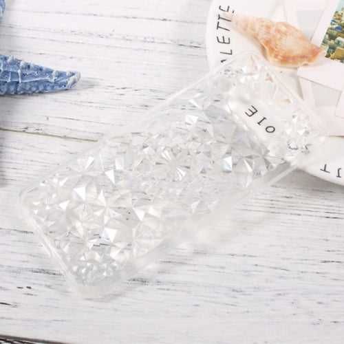 3D Bling diamond Transparent Silicone Case