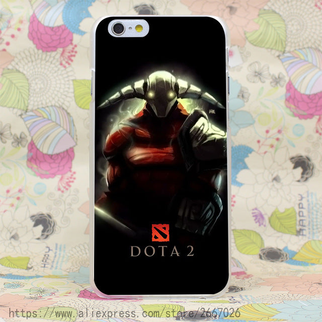 Dota 2 Hard transparent Retro Case