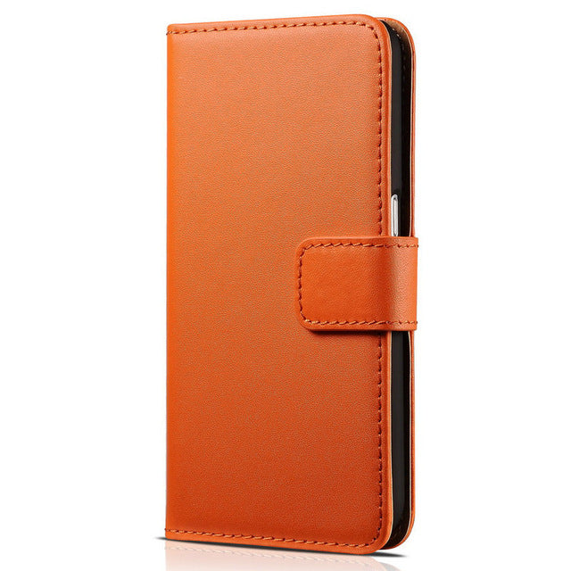Business style Leather Wallet Flip Case