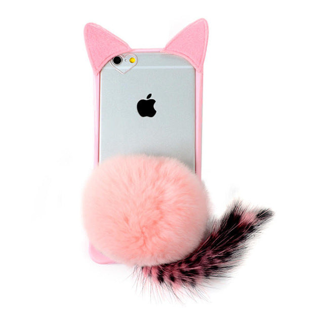 3D Cat's back Soft Case