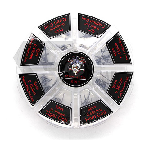 Demon Killer 8 in 1 Coil Ready Wires