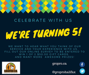 We are turning 5 Years Old this April 2018!