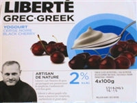 Liberte Greek Yogourt - Black Cherry 2%