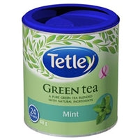 Tetley Green Tea with mint