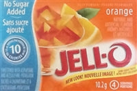 Jello Orange No Sugar Added