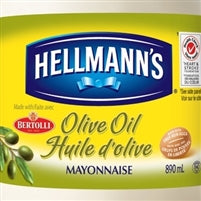 Hellmans Real Mayonnaise with Olive Oil 890 ml