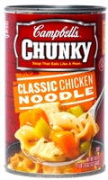 Campbells Chunky Soup Chicken Noodle Soup