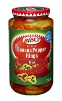 Bick's Banana Peppers Hot