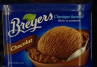 Breyers Chocolate Ice Cream  1.66L