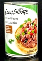 Store Brand Refried Beans