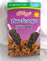 Kellogg's 2 Scoops of Raisins Cereal