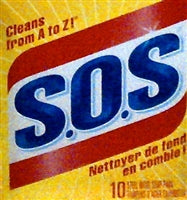 SOS Cleaning Pads 10s