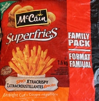 Spicy Xtracrispie McCain Superfries