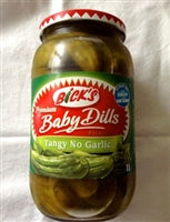 Bick's Baby Dill Pickles Tangy, No Garlic