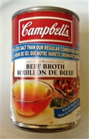 Campbell's Beef Broth 25% Less Salt
