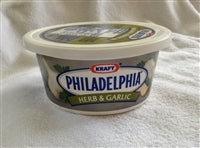 Philadelphia Herb and Garlic Cream Cheese Spread