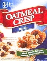 Oatmeal Crisp Raisin Cereal