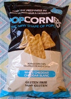 Popped Corners Chips ~ White Cheddar