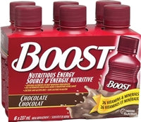 Boost 6 pack - Chocolate, with or without calories