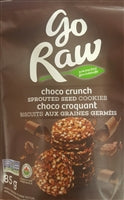 Go Raw Sprouted seed cookies - Choco Crunch