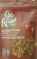 Go Raw Sprouted Flax Snax - Zesty Pizza Flavour