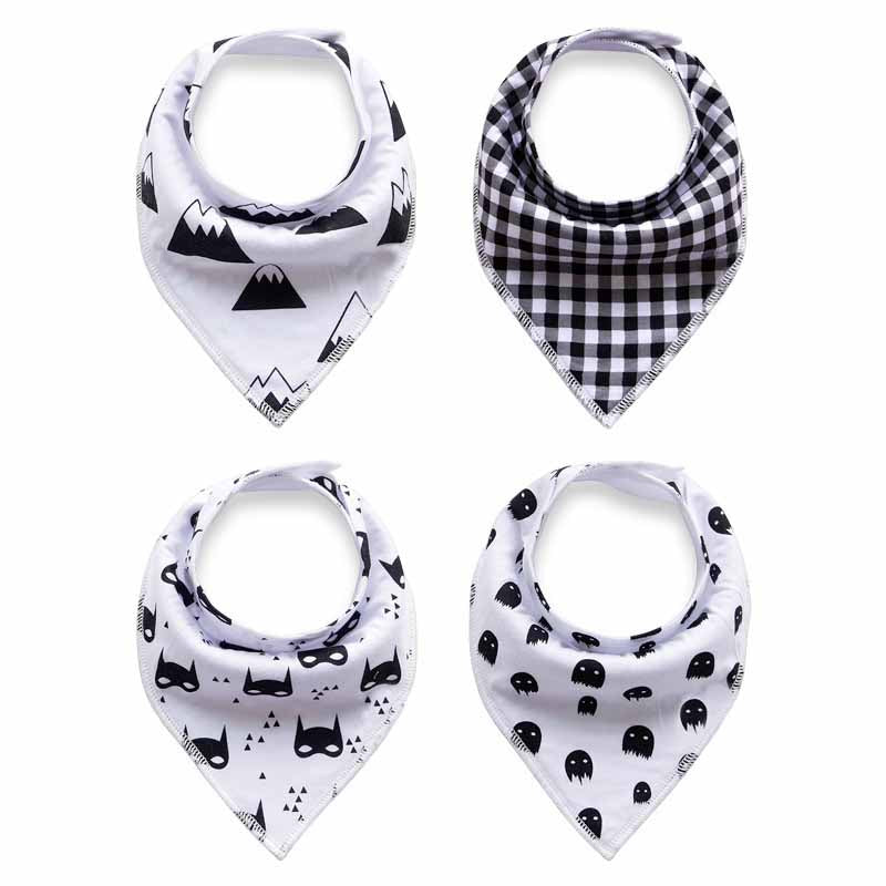 4 Piece Triangle Bibs