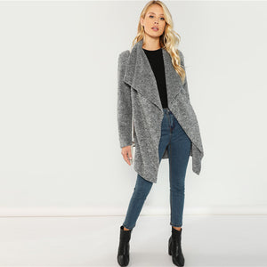 Casual Gray Coat