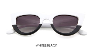 Retro Thick Cat Eye Sunglasses