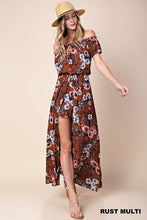 Load image into Gallery viewer, Floral Romper Dress
