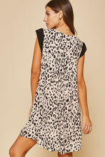 Load image into Gallery viewer, Embroidered Leopard Print Dress