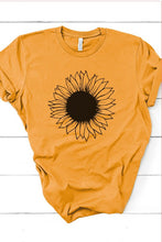 Load image into Gallery viewer, Mustard Sunflower Tee