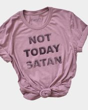 Load image into Gallery viewer, Not Today Satan Tee