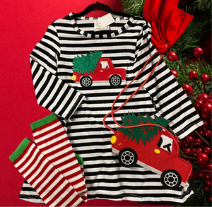 Christmas Tree Truck Dress