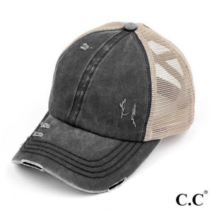 Criss Cross Pony Cap