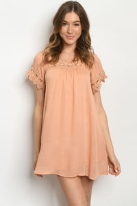 Just Peachy Dress