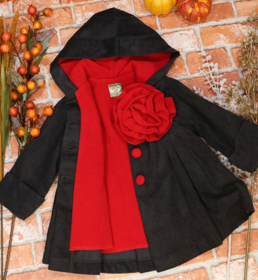 Girls Corduroy Swing Jackets