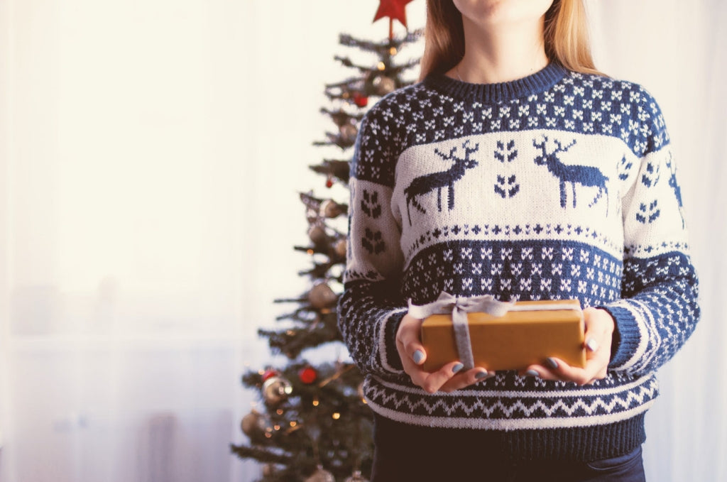 Organic Christmas jumper
