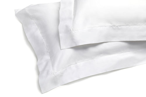 Organic Oxford Pillowcase White – 100% Natural Cotton