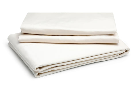 Organic Oxford Pillowcase Pewter – 100% Natural Cotton